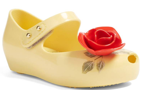 Mini Melissa Ultragirl Beauty & The Beast in Yellow