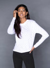 CHRLDR WINO  Long Sleeve High-Low T-Shirt