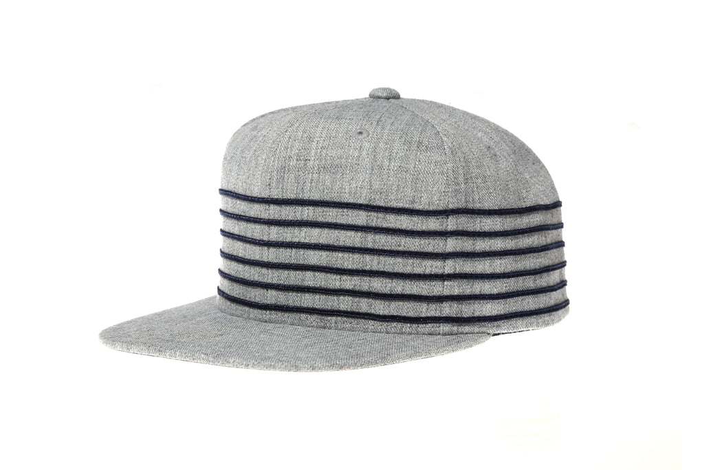 Mitchell & Ness 6 Stripe Flexible Strap Back Hat