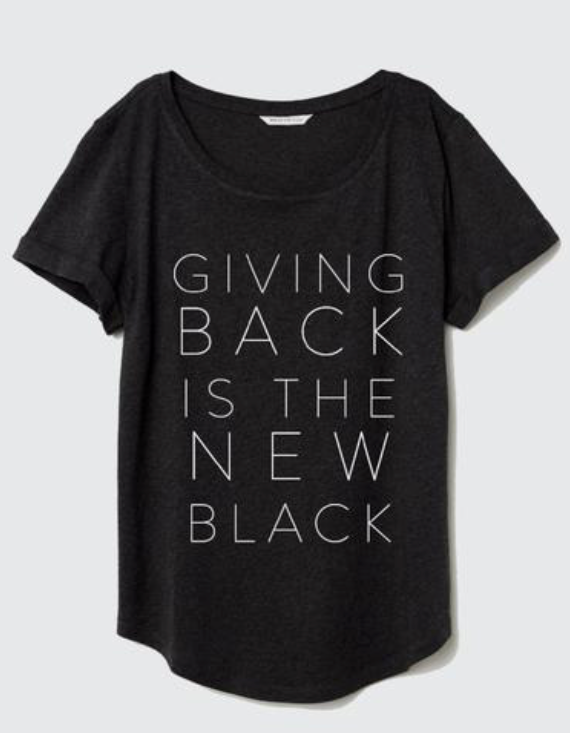 Half United Giving Back is the New Black | 4sisters1closet