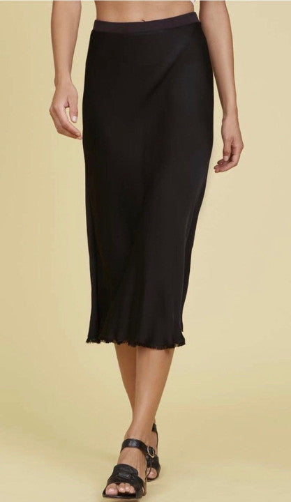 Nation Ltd Mabel Midi Skirt in Black | 4sisters1closet