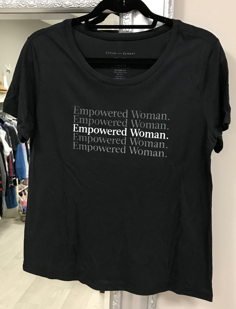 Social Sunday Empowered T-Shirt | 4sisters1closet