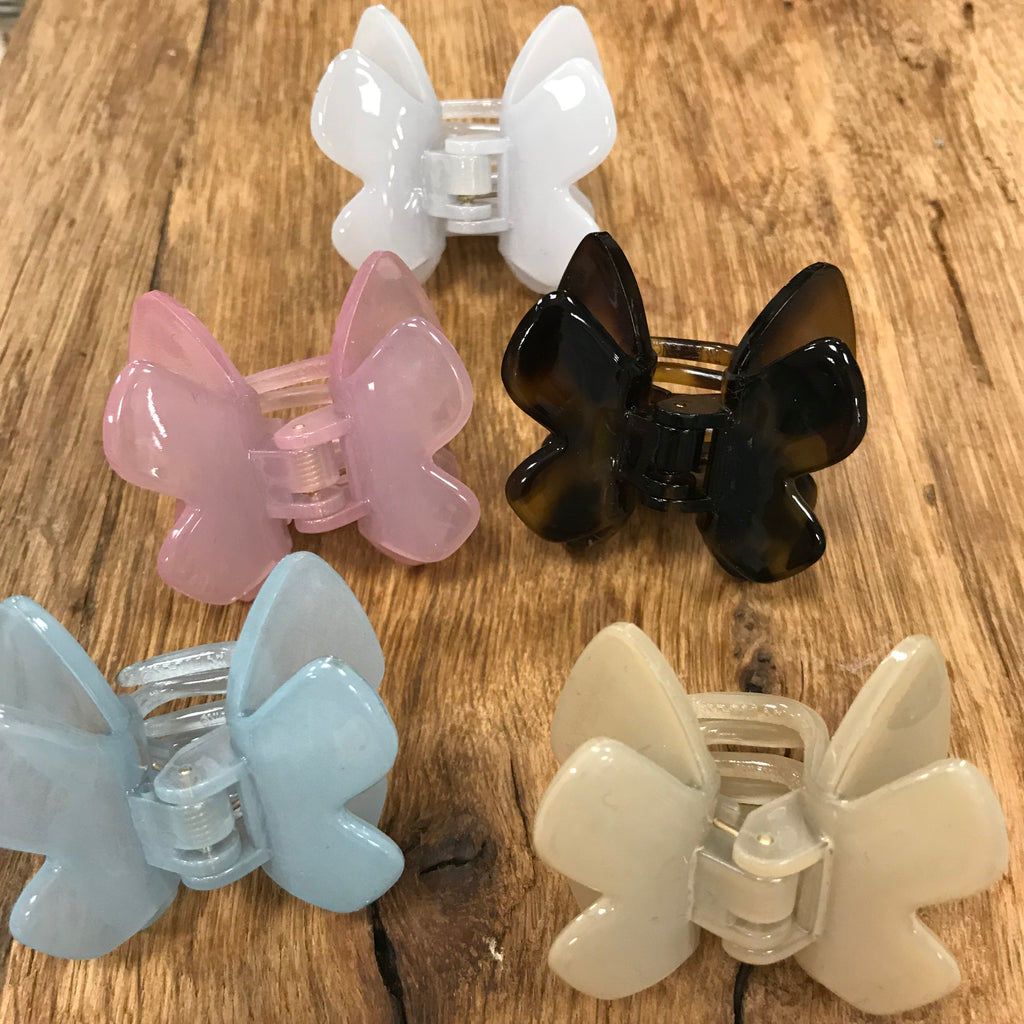 French Atelier Small Butterfly Clip