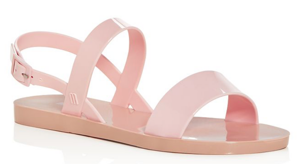 Melissa Lip Ad Slingback in Beige Pink | 4sisters1closet