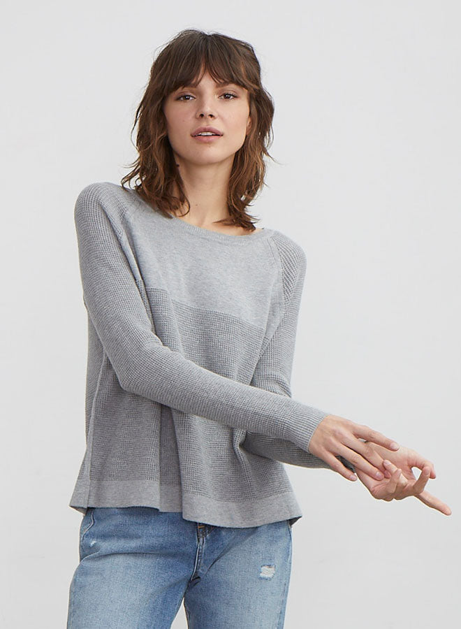 Autumn Cashmere Flared Thermal Crew