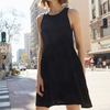 Nation Piper Dress in Black