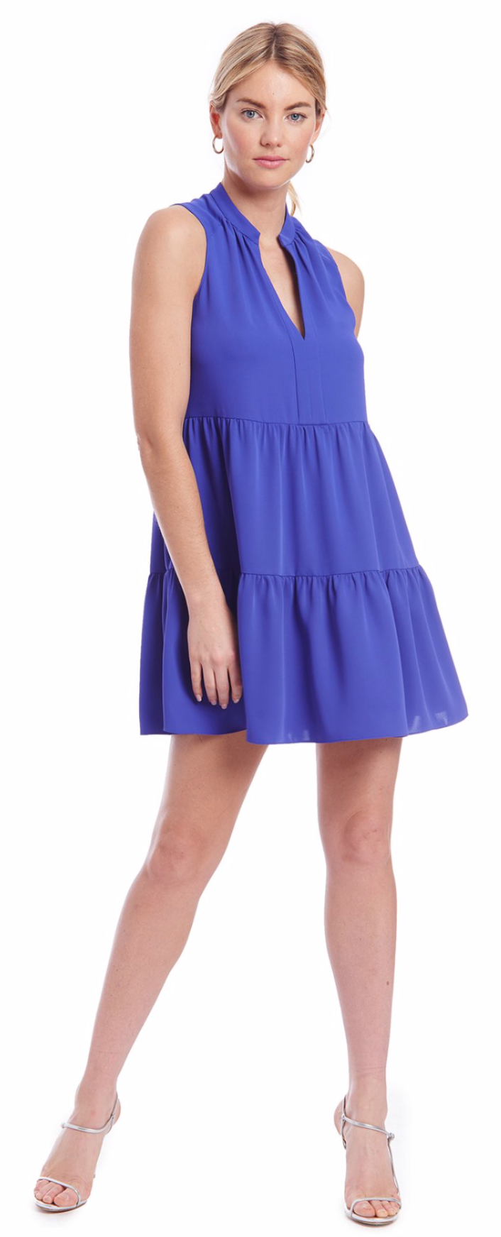 Amanda Uprichard Rylee Dress in Nu Blue