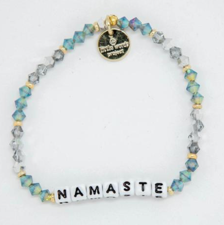 Little Words Project Namaste| 4sisters1closet