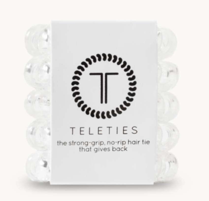 Teleties Crystal Clear Tiny | 4sisters1closet