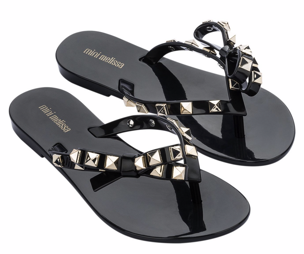 Mini Melissa Mel Harmoni Black Gold | 4sisters1closet