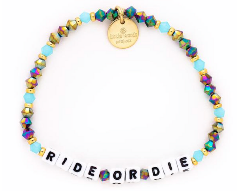 "Little Words Project ""Best Friends Collection"" Ride or Die 