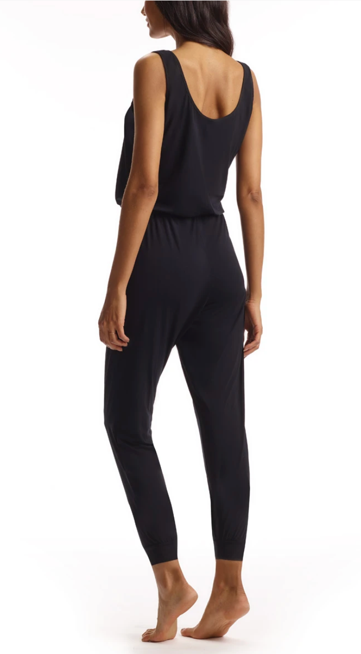 Commando Butter Tank Jumpsuit in Black | 4sisters1closet