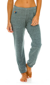Aviator Nation Bolt Sweatpants in Heather Grey | 4sisters1closet