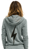 Aviator Nation Bolt Hoodie in Heather Grey | 4sisters1closet