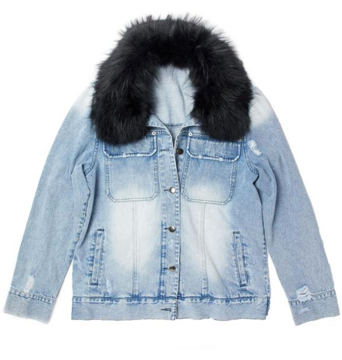 Ava/Kris Jane Jean Jacket
