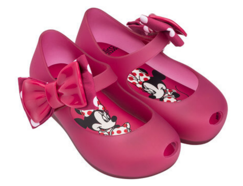 Mini Melissa Ultragirl+Minnie II Bow in Pink