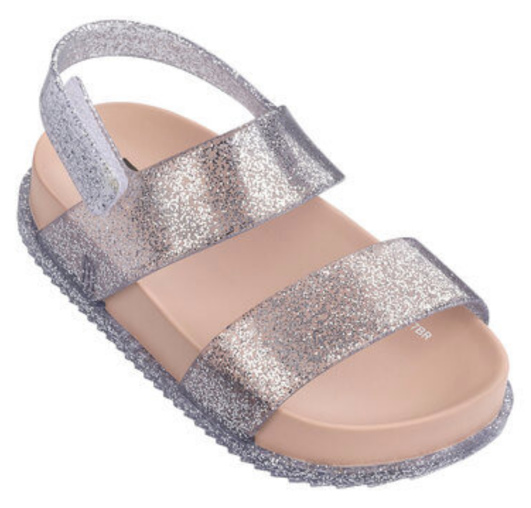 Mini Melissa Cosmic Glittered Sandal