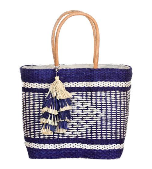 Half United  Diamond Weave Market Bag
