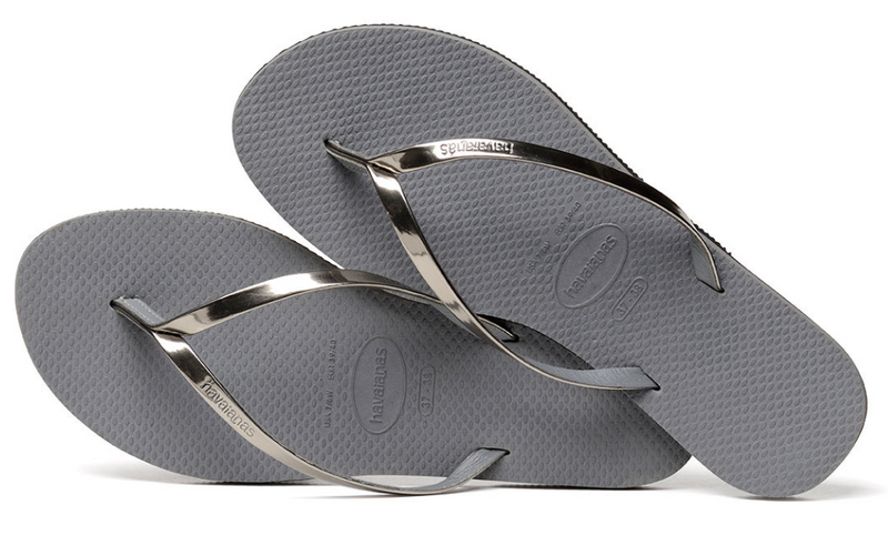 Havaianas You Metallic Sandal Steel Grey
