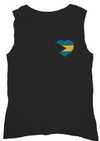Social Sunday Muscle Tank #loveforthebahamas | 4sisters1closet
