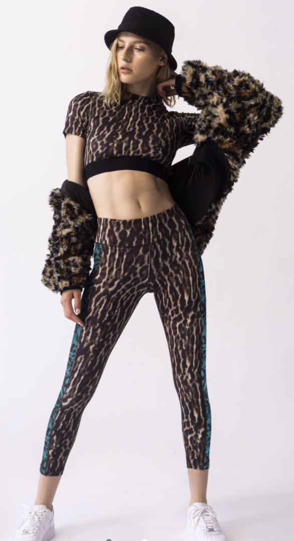 Pam & Gela Leopard Leggings in Natural | 4sisters1closet