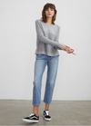 Autumn Cashmere Flared Thermal Crew | 4sisters1closet
