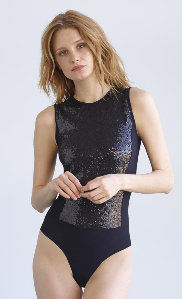 Commando Sequined Signature Bodysuit | 4sisters1closet