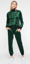 Pam & Gela Snake Joggers in Evergreen | 4sisters1closet