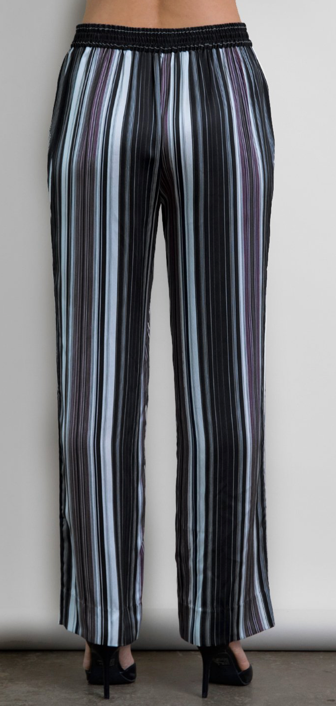 Go Silk go stripe out your own pant | 4sisters1closet