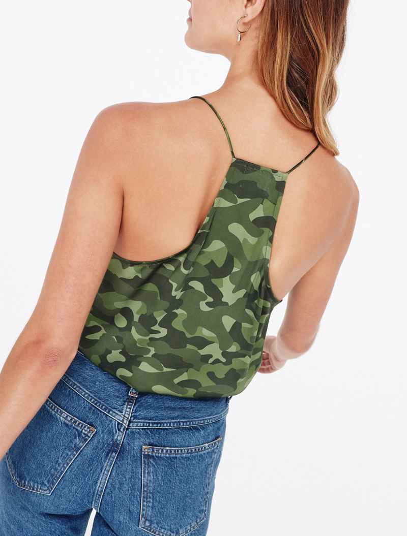 CAMI NYC Racer Charmeuse Camo | 4sisters1closet