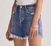 AGOLDE Reese Relaxed Cut off Shorts in Percision