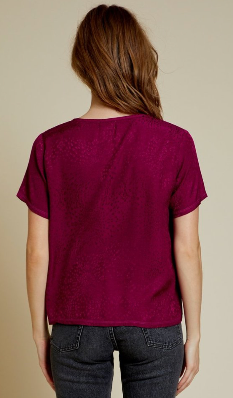Nation *SALE* Marin Crop in Berry