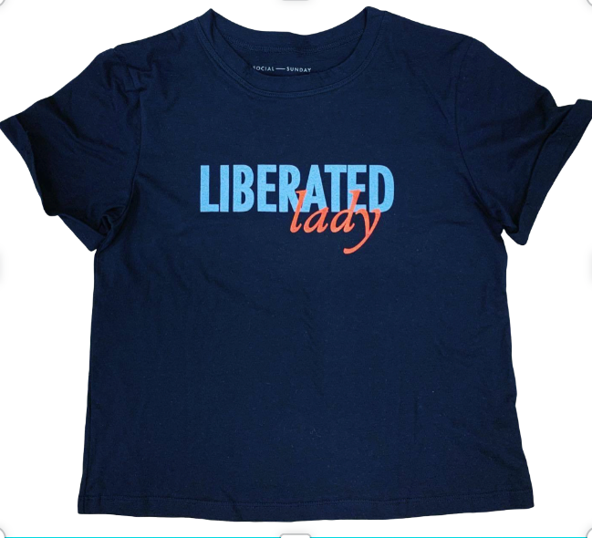 Social Sunday  Liberated Lady Tee