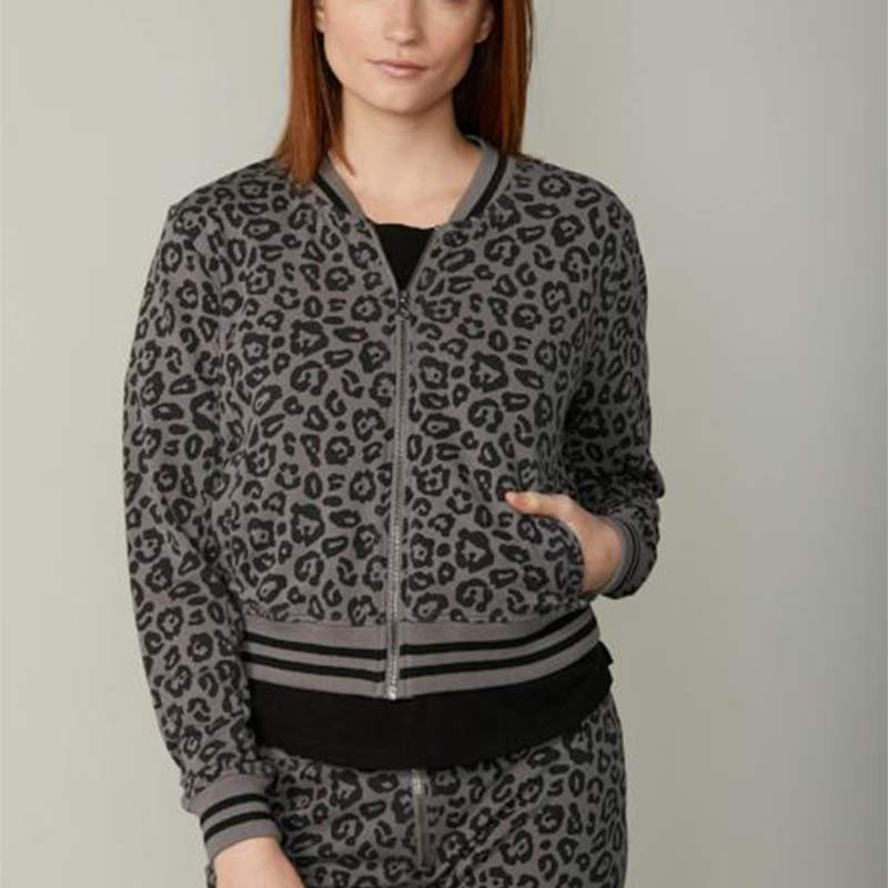 Sundays NYC SALE Chloe Cheetah Bomber