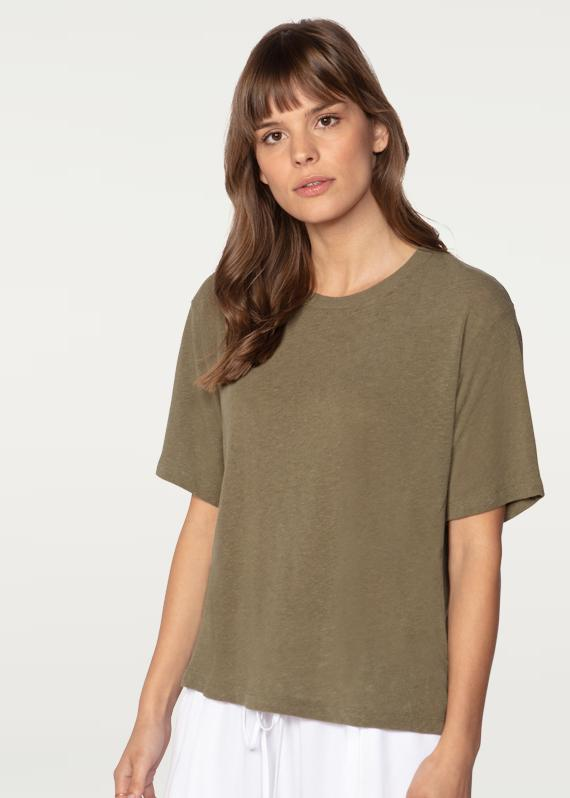 York Street Boxy Crew Neck Tee 50% OFF