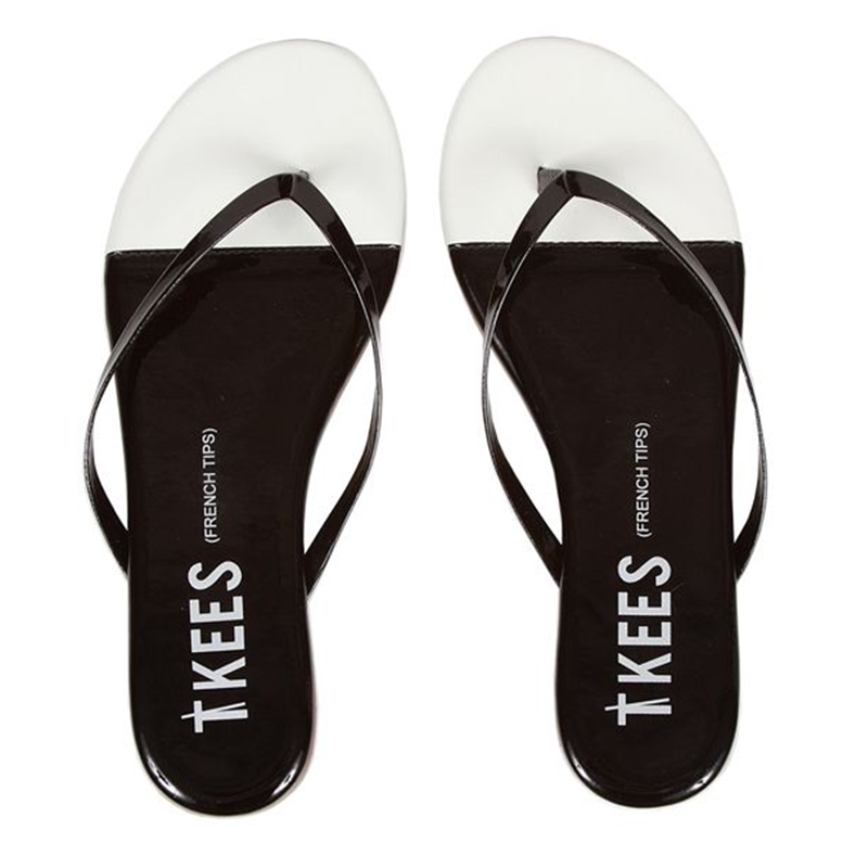 Tkees French Tips Black Tie