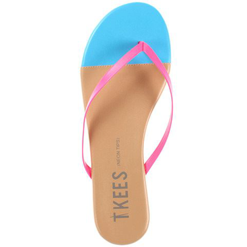 Tkees Neon Tips Sprinkle Cone