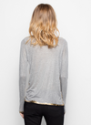 "Zadig & Voltaire ""FOILS"" Willy Gold"