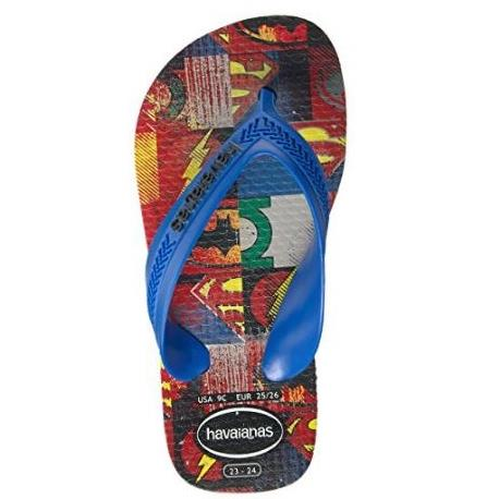 Havaianas Kids Max Heroes in Ice Grey