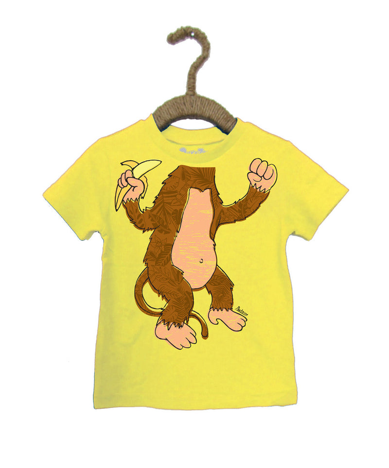 Peek-A-Zoo Monkey in Yellow