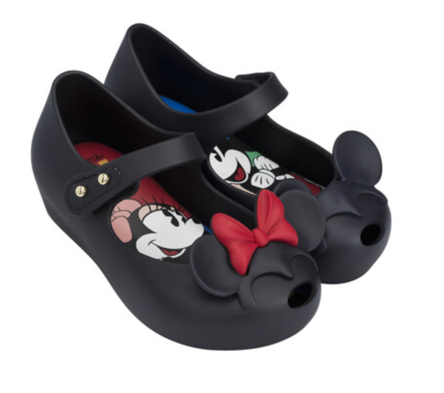 Mini Melissa Ultragirl + Disney Twins II in Black