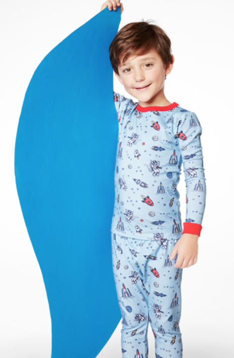Bed Head Occupy Mars Stretch L/S 2pc Kids' PJ