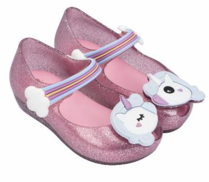 Mini Melissa Ultragirl Unicorns Pink