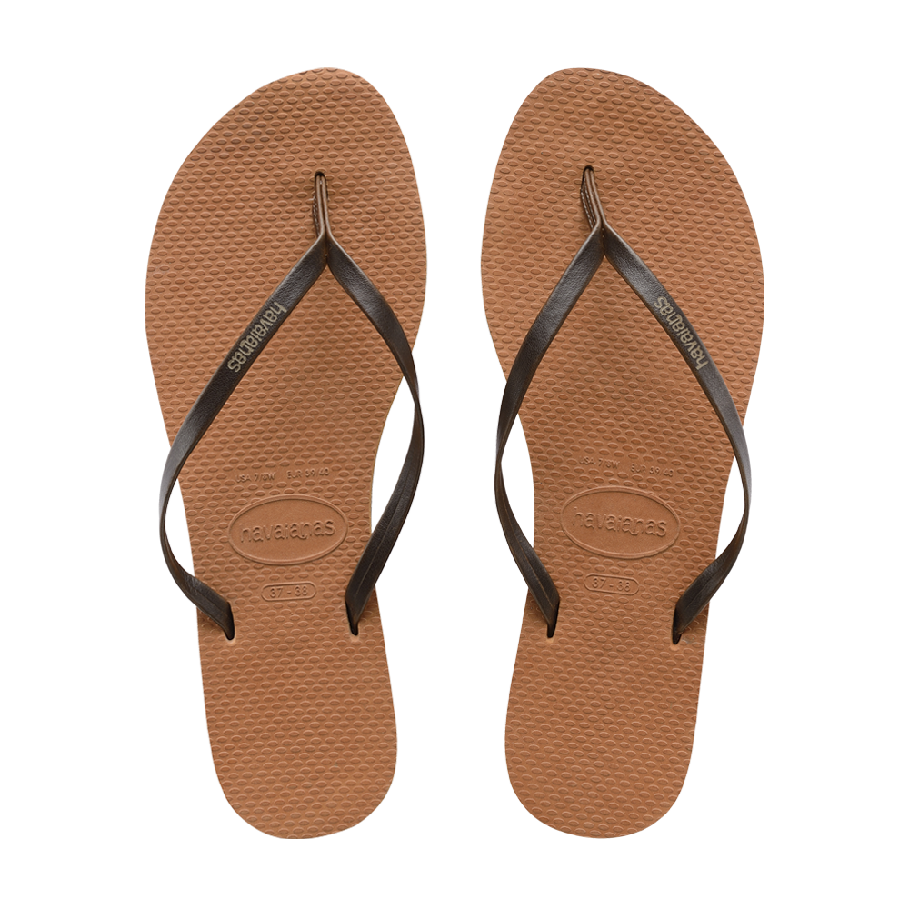 You Sandal in Copper | Shoes  | Havaianas |4sisters1closet