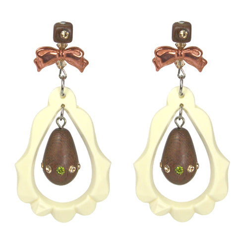"Tarina Tarantino ""Hello Hippie"" Earrings"