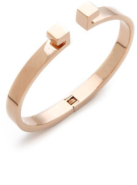 Vita Fede Mini Omega Bracelet in Rose Gold
