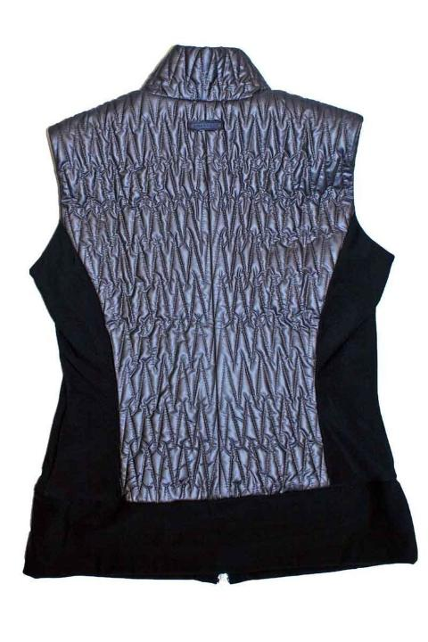 Verdi Pewter Quilted Vest | Tops | Anatomie | 4sisters1closet