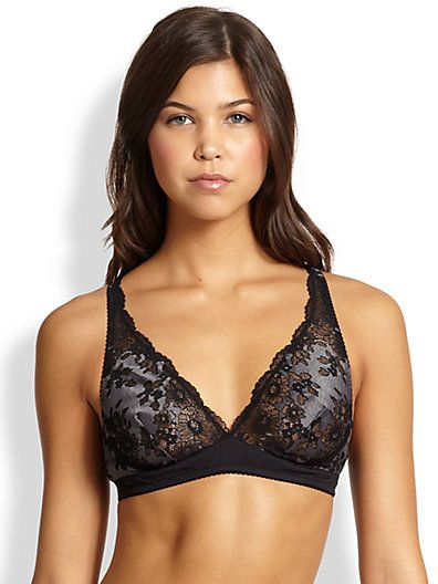 Cosabella Italia Soft Bra in Black-Anthracite
