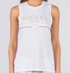 David Lerner Gold Mickey Muscle Tank
