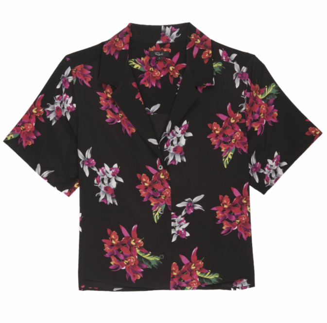 Rails Maui Silk Wild Orchid | Top | 4sisters1closet